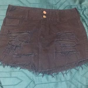 Lanca Perfume Distressed Skirt